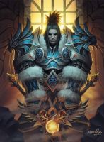 King Varian Wrynn by noodleli