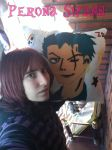 My Pillow Zoro by me :3 by LuffySwan