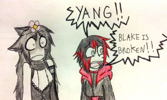 RWBY: Faunus vs Flower by GrimmWolf360