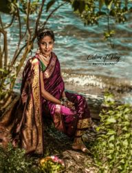 Radha in the moonlight by vinigal123