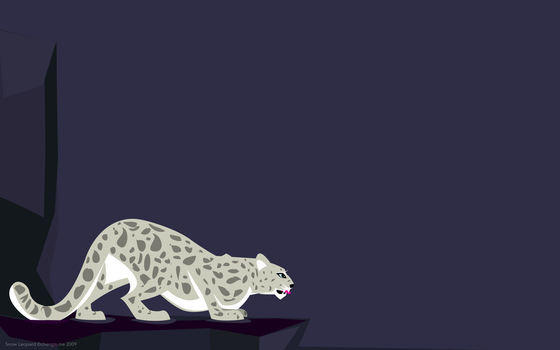 Snow Leopard by chumsdock