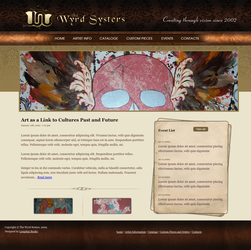 Wyrd Systers Web Page by Vikingjack