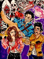 Ash vs Evil Dead by irishimo