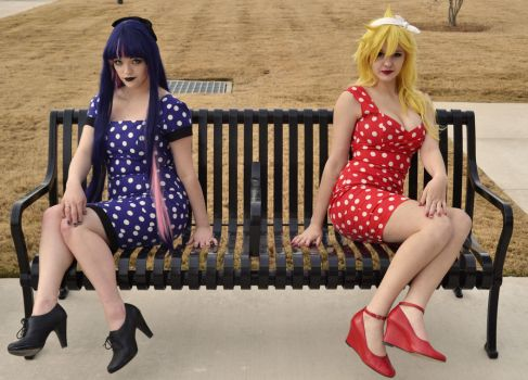 Pin-Up Panty and Stocking 4 by Whatsername-Cosplay