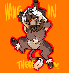 Hang In There by BeastOfEuthanasia