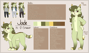 (OLD) Jade Reference || 2018 by JadeALade