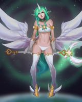 Star Guardian Soraka by nesoun