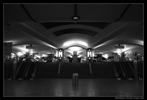 S27-17 Bibliotheque, The Hall by iksela