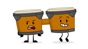 Object Characters 1: Bongos by GuyGoon