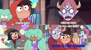 The real svtfoe ship wars by Prince-riley