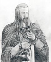 Quorthon As A Viking by Satanoy