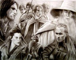 The Fellowship Of The Ring by Y-LIME