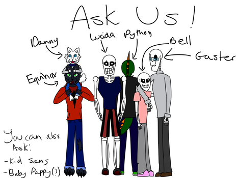 Ask Brothertale Origins!! (ASK HERE) by thefoxx2003