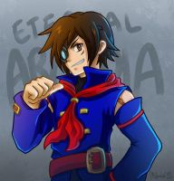 Vyse YAY by SuperMisurino