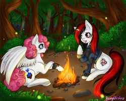 Com: Campfire stories by BunnyWhiskerz