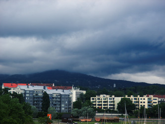 Oslo - A Clouded Mountain by ErinPtah