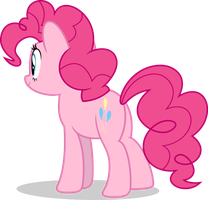 Mlp Fim Pinkie Pie (...) vector #7 by luckreza8