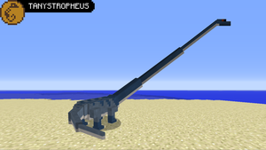 PaleoCraft Concept: Tanystropheus by Hydrallon