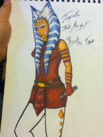Jedi Knight Ahsoka W.I.P by SweetLittleAki