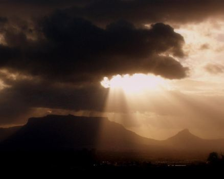 Cape Town is blessed by wkrige