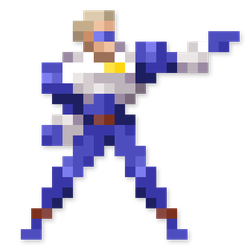 Day #47 - Captain Commando by JINNdev