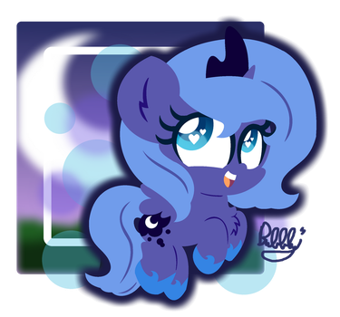 I Am the Night! by Bubbly-Storm