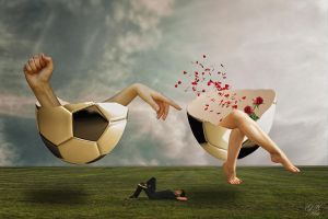 Football-dream by gestandene