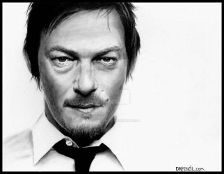 Norman Reedus - The Walking Dead by Doctor-Pencil