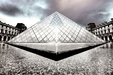 Paris - The Louvre in HDR by Bifford