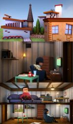ROOM - 3D Animated short film by leonuts