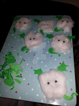 Cotton Wool Dragons by Scellanis