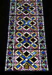Abstract Stained Glass at Lincoln, UK by bobswin