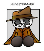Lil' Plusher Rorschach by 5chmee