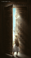 Behind the door by Ahmed-Fares94