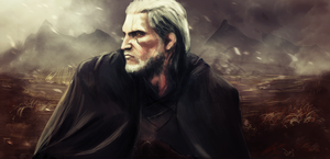 Geralt of Rivia by wajsm