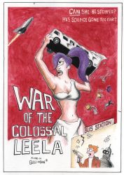 War of the Colossal Leela by Gulliver63