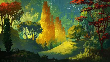Forest of Liars : Wandering by Tohad