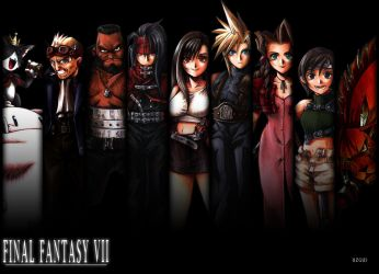 FINAL FANTASY VII Wallpaper By Christ139 On DeviantArt