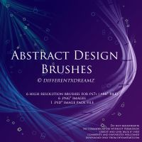 Abstract Design Brushes by differentxdreamz
