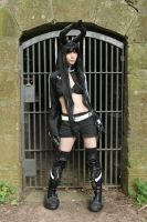Black gold saw Cosplay Stock 13 by Malleni-Stock