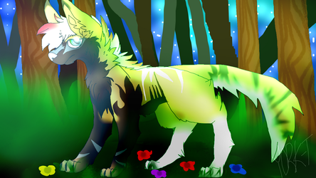 A Walk in a Forest |Entry #2 for MoscoMoon by LipsynkFennec