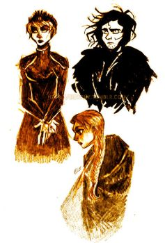 Game of thrones sketches 2 by ElisEiZ