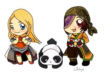 Renn and Tus (Dynasty Warriors Online) by Shadowstarlette