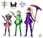 Project Scales and Jenny 8 Maid Knights by Jowybean