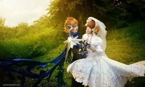 Tsubasa RC - Dancing in the Blissful Breeze by vaxzone