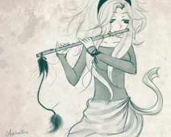 Flute by Avahollic