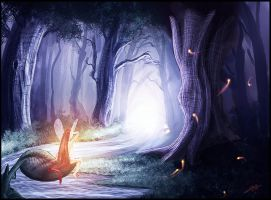 Enchanted Forest by Andantonius