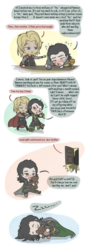 Loki's Softer Side by JazzySatinDoll