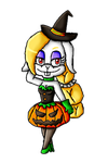 Halloween Collab-Harriet  by ninpeachlover