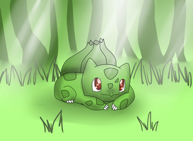bulbasaur by bumblejinx